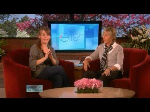 Ellen hires Jeannie Klisiewicz! 10/03/08