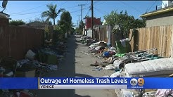 Venice Residents Outraged Over Mounting Trash, Blame Growing Homeless Community