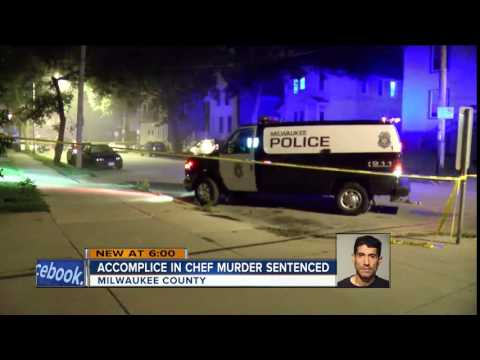 Accomplice in chef murder sentenced