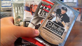 Opening Random Hockey Hobby Packs | O-Pee-Chee Platinum Heroes & Propects & More!