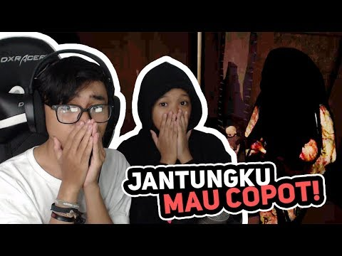 ADHIT DAN ADEKNYA KETAKUTAN MAIN PAMALI GAME HORROR BUATAN INDONESIA