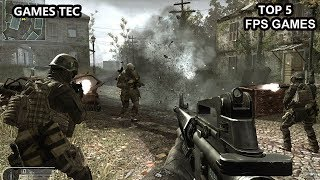 Top 5 New Best FPS Android Games 2018  Games Tec 