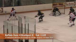 Mens Hockey: Buffalo State 6 Brockport 1 12/7/13
