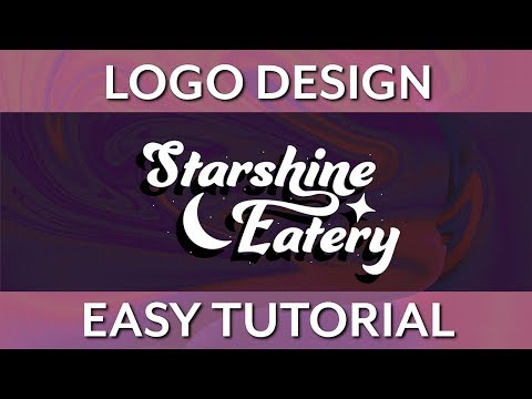 Logo Design Tutorial for Beginners | Graphic Design & Illustrator Tutorial thumbnail