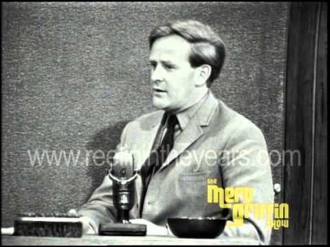 "John le Carré- Interview ""Spy Who Came In From The Cold"" (Merv Griffin Show 1965)"