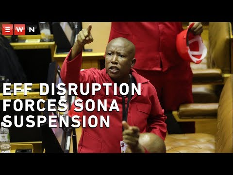'Pravin must go!' EFF disruption forces Sona suspension