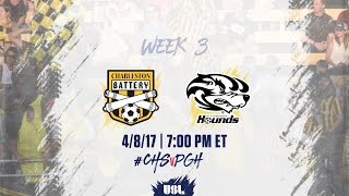 Charleston Battery vs Pittsburgh Riverhounds full match
