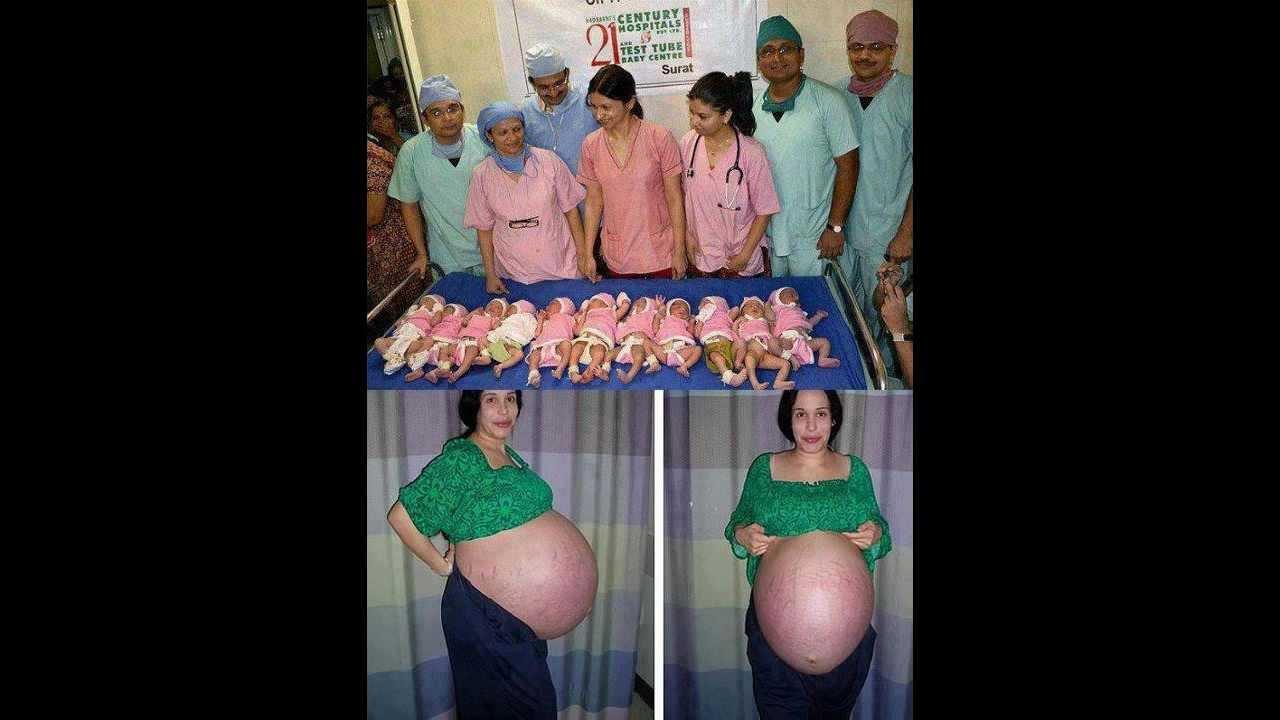 Femme enceinte la plus grasse