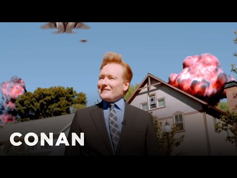 "Conan's Apocalyptic ""Fallout 4"" Cold Open  - CONAN on TBS"