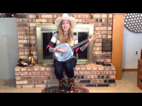 Oh, Susanna! Sung by Susanna on Banjo-Guitar