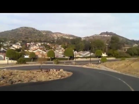 Driving down from Orange Mining Company restaurant