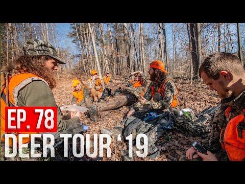 DEER DRIVES ON OHIO PUBLIC LAND! - Muzzleloader Hunting