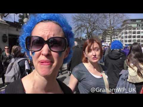 March for Europe, 2017, London: Longer interview with