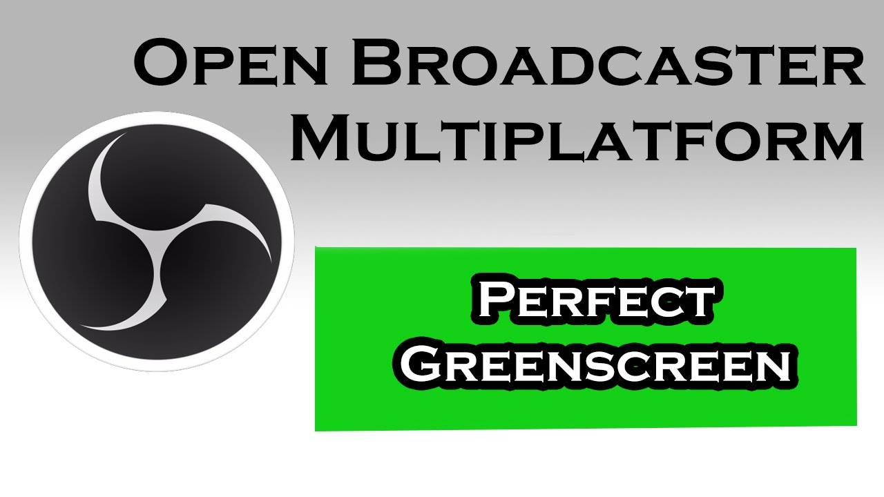 how to add green screen in obs