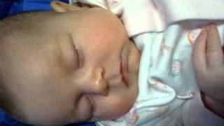 7 week old baby snoring