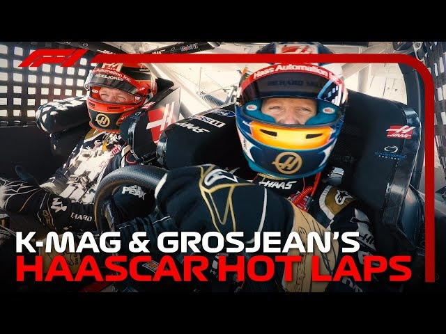 K-Mag and Grosjean's HAASCAR Hot Laps: 2019 United States Grand Prix