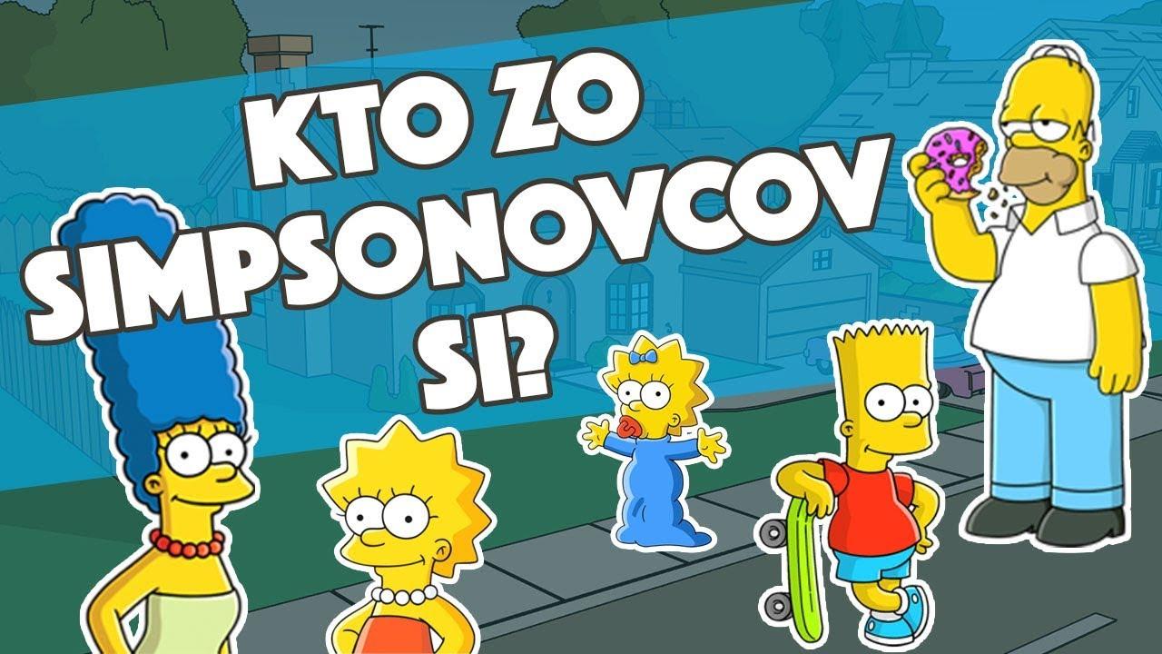 Ktorá postava zo Simpsonovcov ťa vystihuje? | Videokvíz