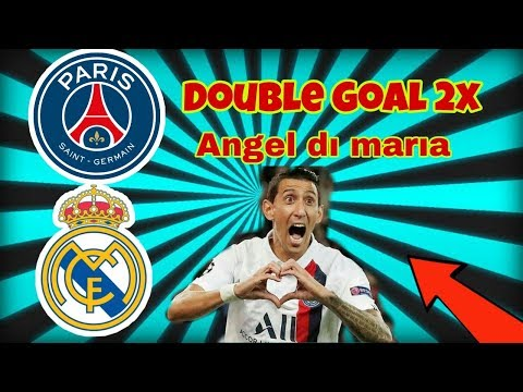Angel Di Maria PSG Real Madrid Match Double Goal Champions League 18.09.2019