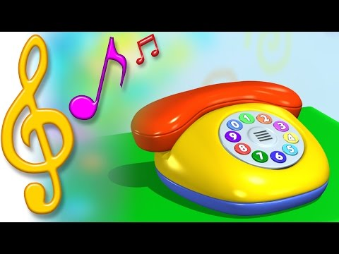 TuTiTu Songs | Phone Song | Songs for Children with Lyrics