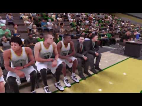 NBA2K16 Career Mode(GOING TO THE WOLVERINES)