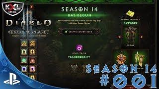 Diablo 3 [UEE|PS4PRO] #001 - Erstmal failen! ➥ Let's Play