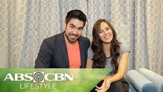 "Catriona Gray And Boyfie Clint Bondad Play ""Fill In The Blanks"" Part 1"