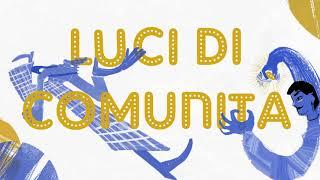 """Le """"luci di comunità"""" illuminano la città: parole sospese che fanno bene al cuore"""