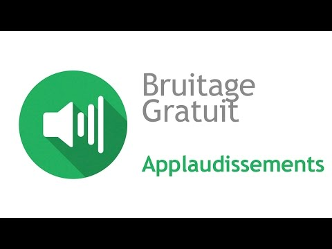 APPLAUDISSEMENTS TÉLÉCHARGER BRUITAGES