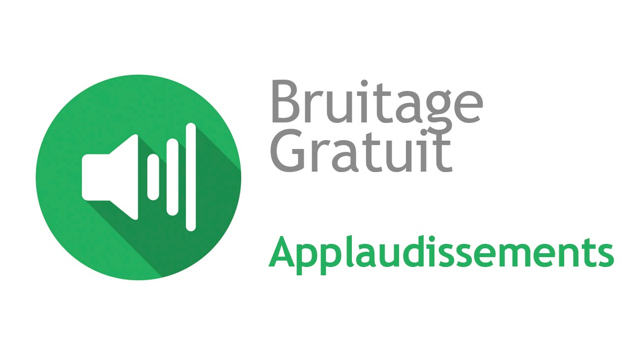 bruitage applaudissement
