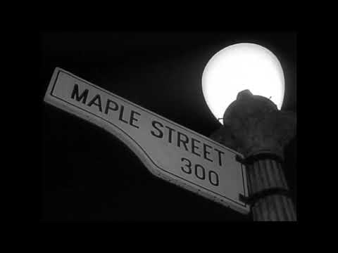 Clip From End Scene Monsters Are Due On Maple Street Twilight Zone Original Airdate 3 4 60 Youtube
