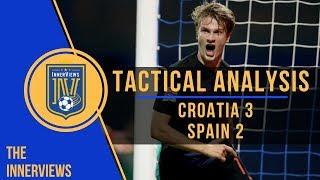 Croatia vs Spain 3-2 | Tactical Analysis | How Dalic's Croatia SHUT DOWN Spain