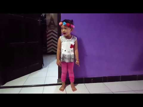 Queen nyanyi lagu anak bebek adus kali kids song
