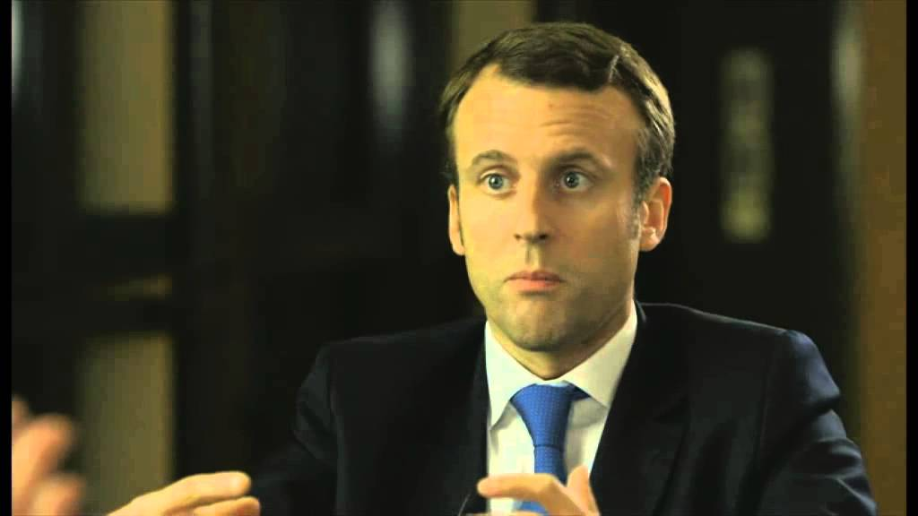 Robert Peston Speaks To Emmanuel Macron Newsnight Youtube