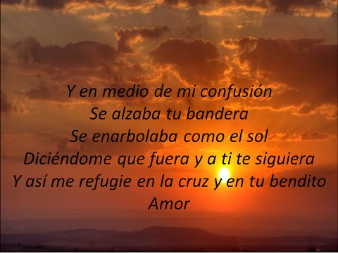 "Tu bandera ""Jesús Adrián Romero (Letra)"