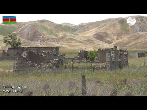 Видеокадры из села Машанлы Джебраильского района