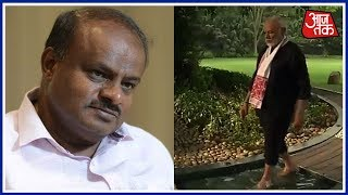 PM Modi ने जारी किया Fitness वीडियो और Karnataka CM Kumaraswamy को दिया चैलेंज