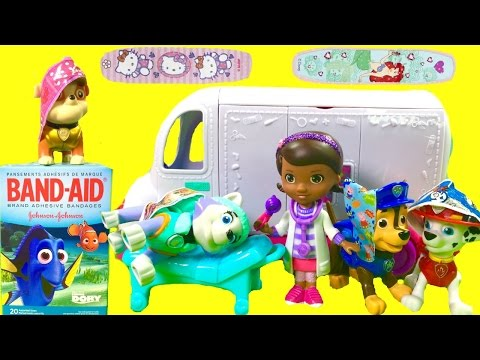 Paw Patrol Get Hurt on Playground & Doc McStuffin