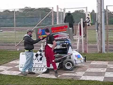 Sportsman's Speedway Feature Winner Joe Sanger 2010