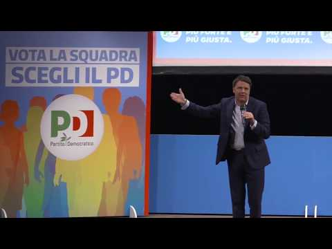 Matteo Renzi a Palermo