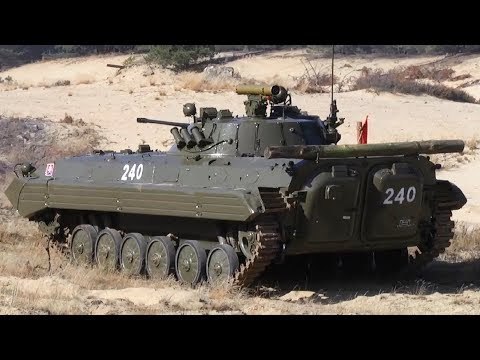 BMP-2 Infantry Fighting Vehicle - 30mm Cannon Live Fire
