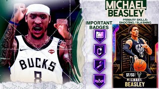 *FREE* GALAXY OPAL MICHAEL BEASLEY GAMEPLAY! IS HE WORTH THE 12-0 UNLIMITED GRIND? NBA 2k20 MyTEAM