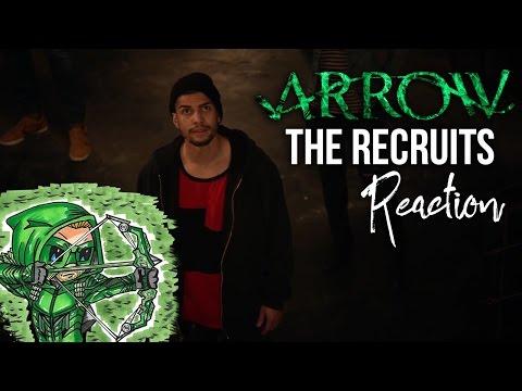 ARROW Season 5 Episode 2: The Recruits Reaction