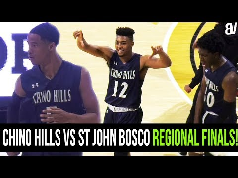 Chino Hills Shows HEART VS St John Bosco REGIONAL FINALS! Andre Ball & Ofure REFUSE TO LOSE!