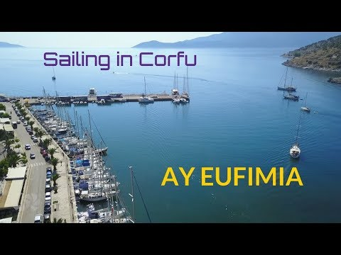 sailing in corfu | cruise & travel in Greece | Sea TV | AY EUFIMIA, sta Eufemia, Pilaros cove