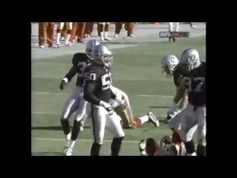 San Francisco 49ers vs Oakland Raiders 2002 (T.O. vs Charles Woodson) (pt. 2)
