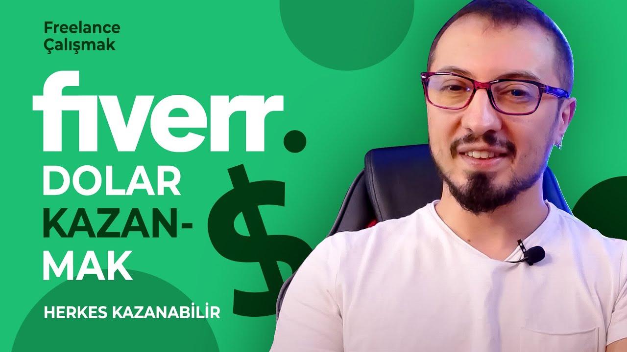 FİVERR İLE FREELANCE PARA / DOLAR KAZANMAK