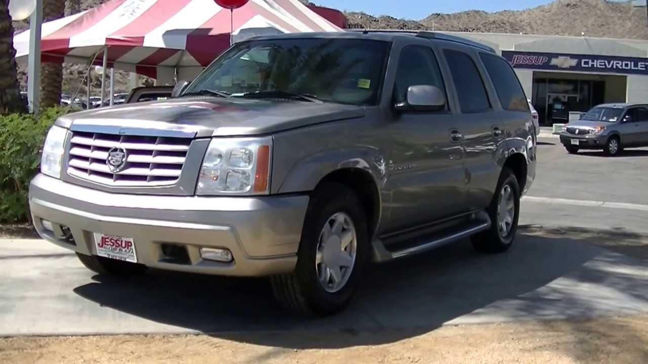 2002 Cadillac Escalade Walk Around Video Jessup Auto Plaza
