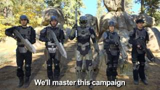 HALO 4   (Glad You Came The Wanted Parody)