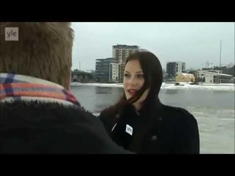 Nightwish Floor Jansen interview in Finland 15.12.2014 HD [subtitles]
