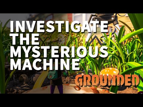 Investigate The Mysterious Machine Grounded